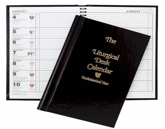 Liturgical Desk Calendar Hardcover
