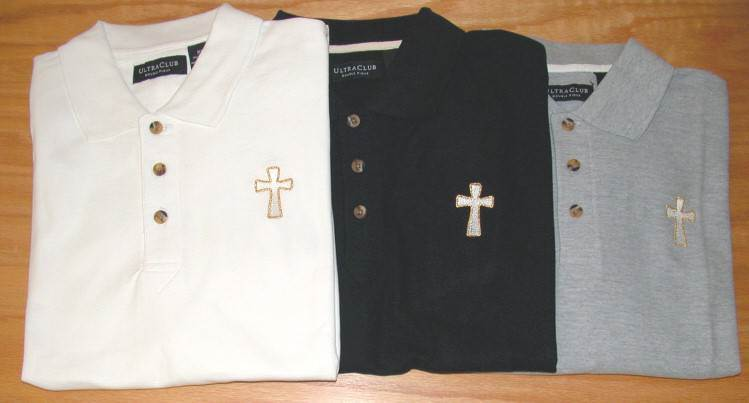 Long Sleeve Polo Clergy Shirt