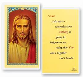 Lord Help Me To Remember Holy Card