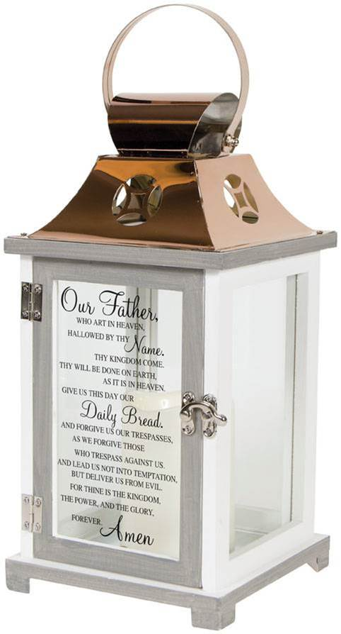 Our Father LED Lantern