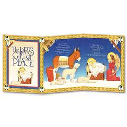 Lords Gift of Peace Trifold Boxed Christmas Cards christmas cards, box cards, holy  cards, wcr4637, holiday cards
