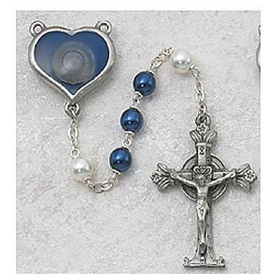 Lourdes Water Pearl Rosary