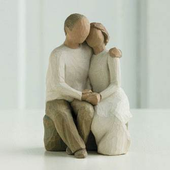 Willow Tree™ Love Ever Endures Figurine wedding gift, figuine, shower gift, cake topper, couple gift, anniversary gift,
