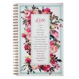 Love is Wirebound Notebook