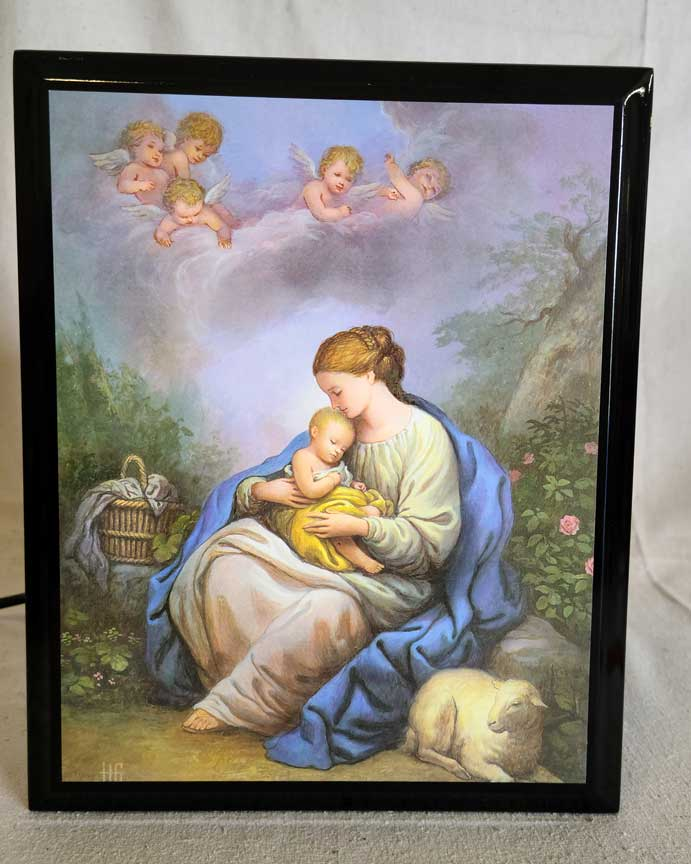 Madonna & Child 8x10 Plaque | CATHOLIC CLOSEOUT