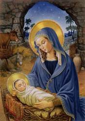 Madonna & Child Advent Calendar