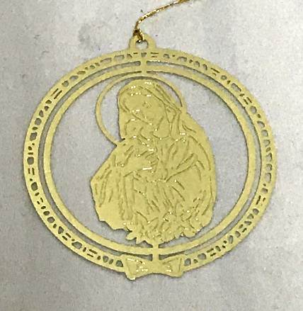 Madonna and Child Ornament