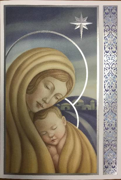 Madonna and Child Box Christmas Cards