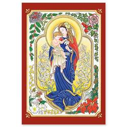 Madonna and Child of the Lilies Boxed Christmas Cards