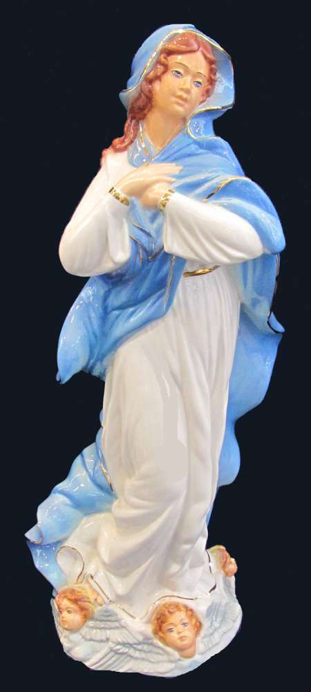 Madonna of the Assumption Ceramic Statue