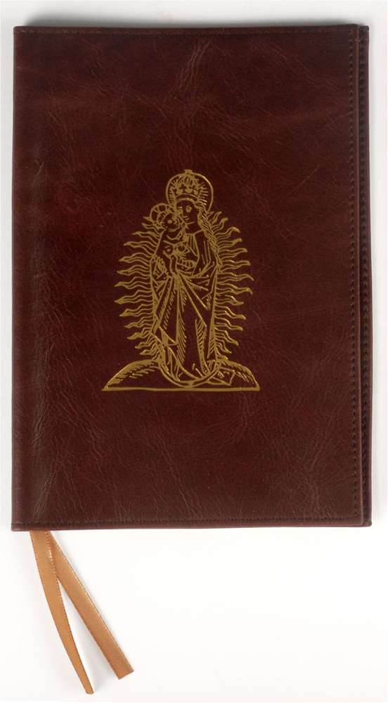 Magnificat Brown Leather Cover