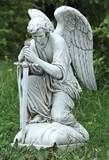 Male Angel Kneeling Statue *AVAILABLE 11/1; ADVANCE ORDERS ACCEPTED NOW*