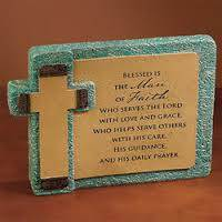 Man of Faith Plaque *WHILE SUPPLIES LAST*