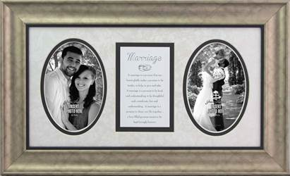 Marriage Photo Frame with Verse