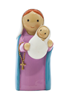 Mary and Baby Jesus Statue (Lady of the Rosary)