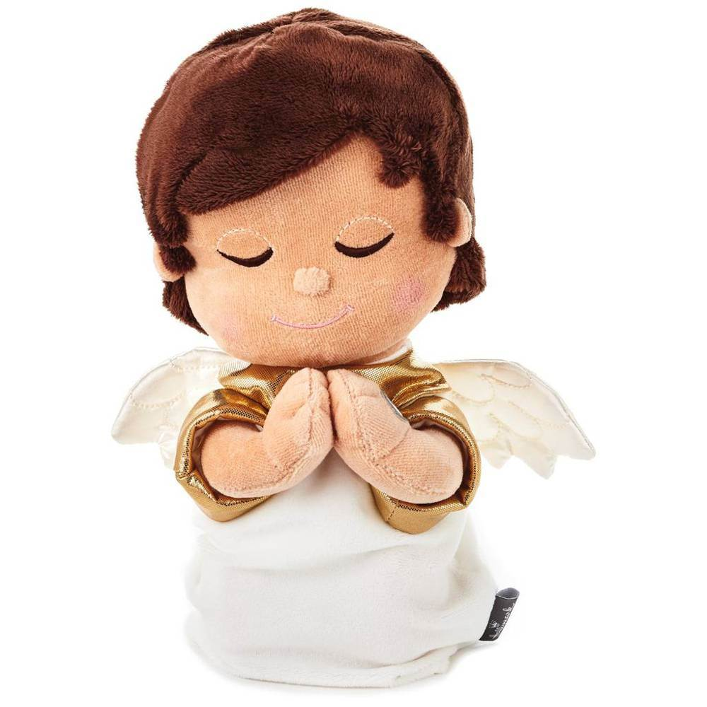 Mary's Angels Lord's Prayer Angel Stuffed Animal With Sound, 10.75""