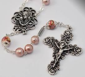 Marys Motherly Love Collection Silver Plated Rosary