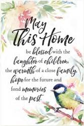 May This Home Decorative Plaque