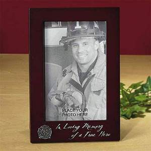 Memorial Firefighter Photo Frame*WHILE SUPPLIES LAST*