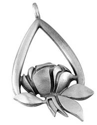 Memorial Tear Pewter Ornament