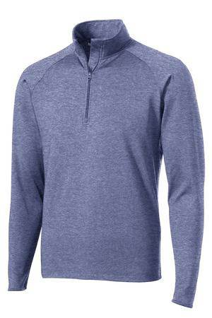 BEST SELLER! Mens Quarter Zip Performance Pullover with Embroidered School Logo *Spiritwear* - 106001