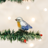 Mini Bluebird Clip Ornament