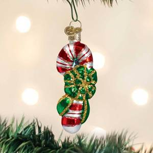 Miniature Candy Cane Ornament