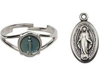 Miraculous Pendant and Ring Set