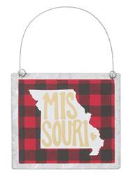 Missouri Tin Ornament