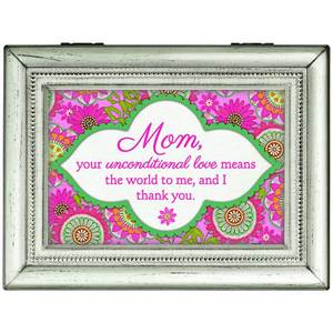 Mom your Unconditional Love Music Box