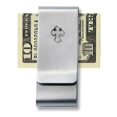 Money Clip with Cross