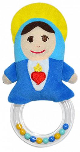 Mother Mary Rattle