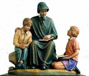 Mother Seton Group Statue
