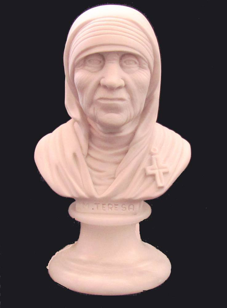 Mother Teresa Bust, Made in Italy
