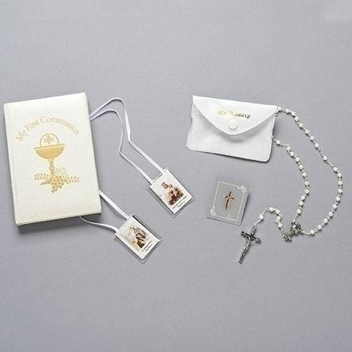 First communion gift Set White