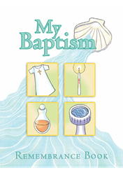 My Baptism Remembrance Book by Moss Mary Martha