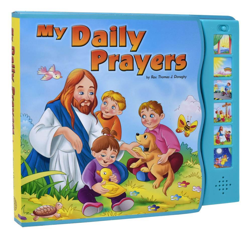 My Daily Prayers - Interactive Book