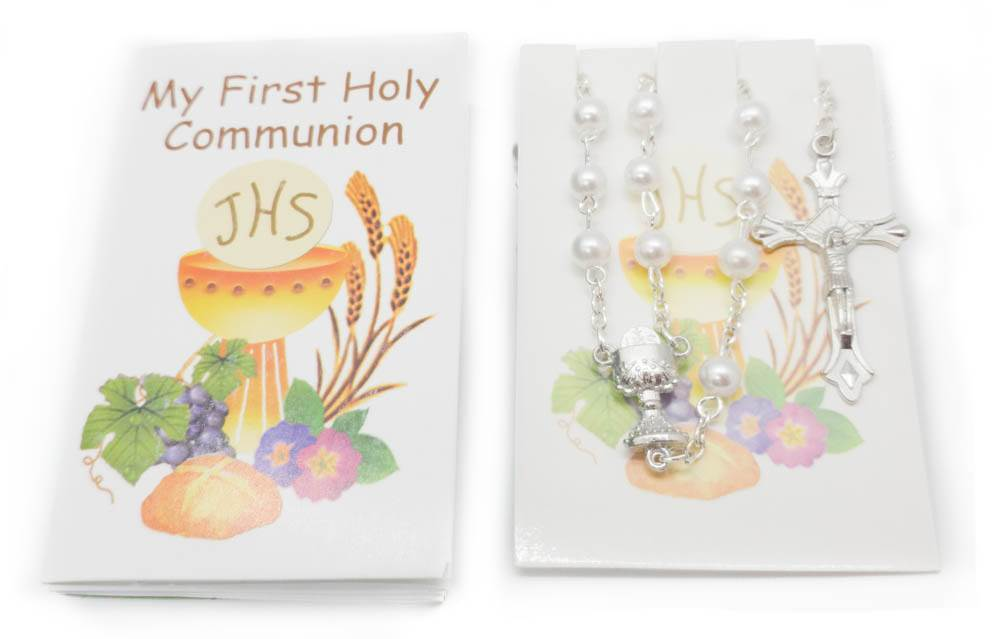 My First Communion Missal Set Pearl Rosary