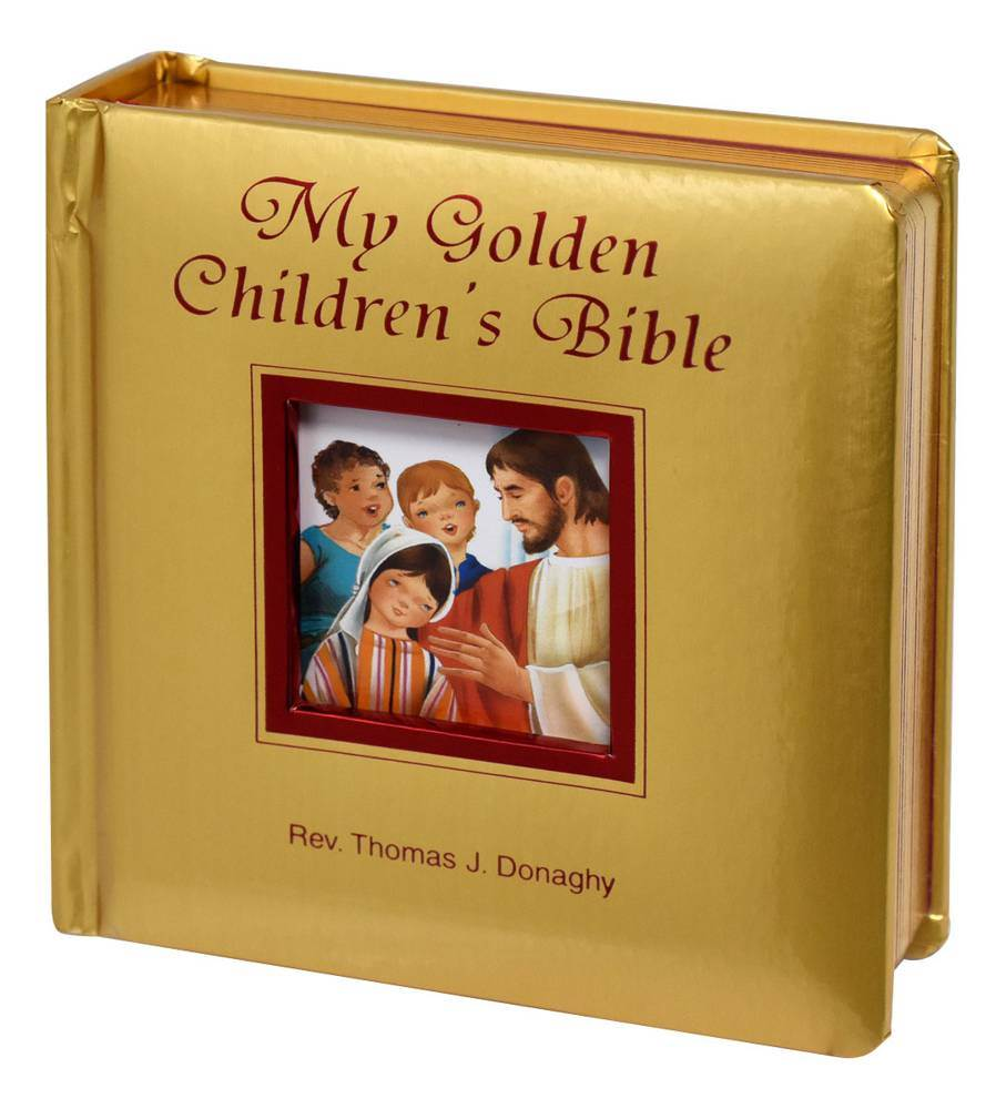 My Golden Children's Bible Thomas J. Donaghy Board Book