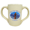 Mystic Monk Double Handle Coffee Mug