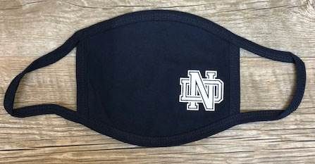 ND 3-Ply Reusable Face Mask, Navy
