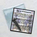 Nail of Redemption Pocket Token in Prayer Folder