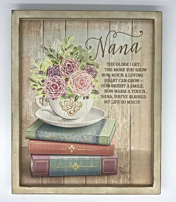Nana Wall Plaque