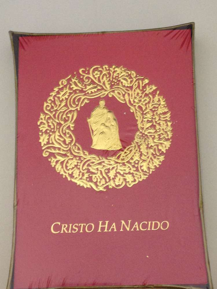 Nativity Christmas Card (Spanish)
