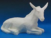 Nativity Donkey in White