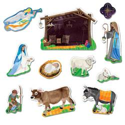 Nativity Fridge Magnet Set