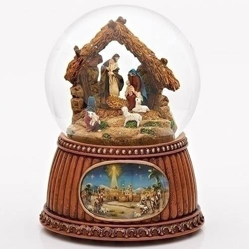 Nativity Musical Globe