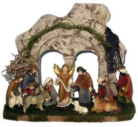 "Heavens Majesty Nativity Set and Stable *WHILE SUPPLIES LAST* nativity set, indoor nativity, 8"" nativity set, christmas gift, wedding gift,SL1864A, QUANTITY DISCOUNT, QTY DISCOUNT"