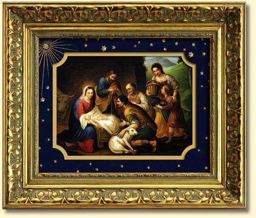 Nativity Framed Picture