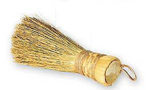 Natural Broom Sprinkler